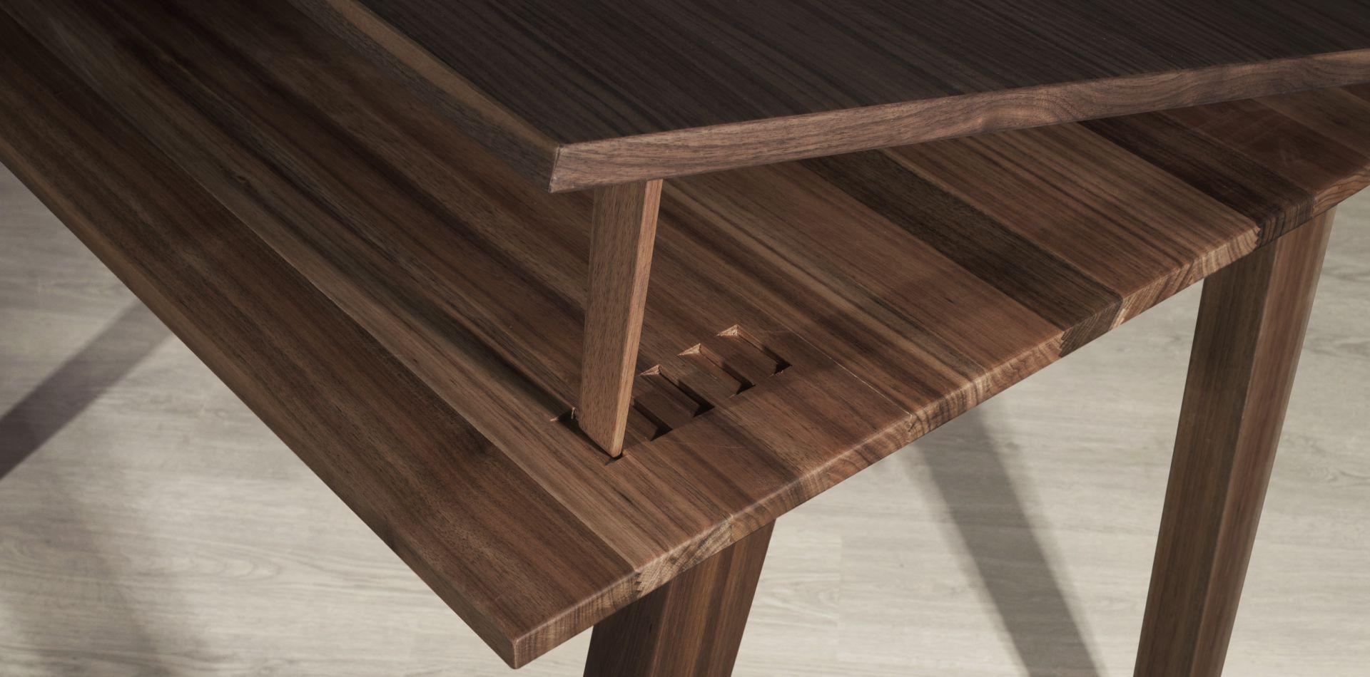 Aleister desk detail