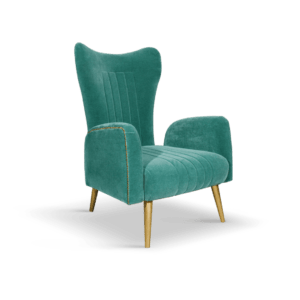 Alexa Hampton- Interior Design Projects-Loren armchair
