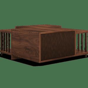 Alexa hampton- interior design projects- Douglas Center table