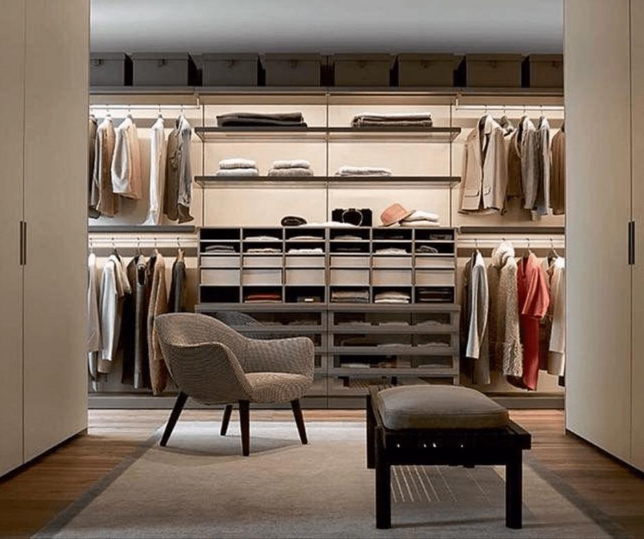 Armchair Upgrade- Closet