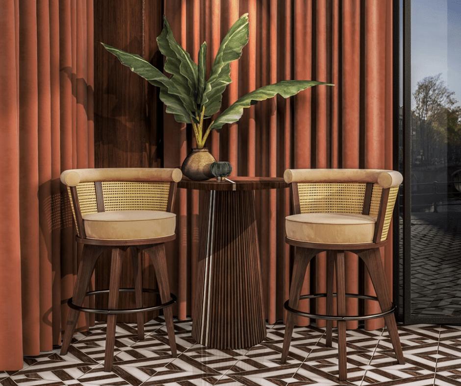 Bar chair ideas- Wood tailors club