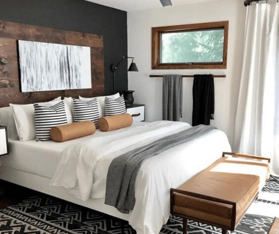 Bedroom decor- boho
