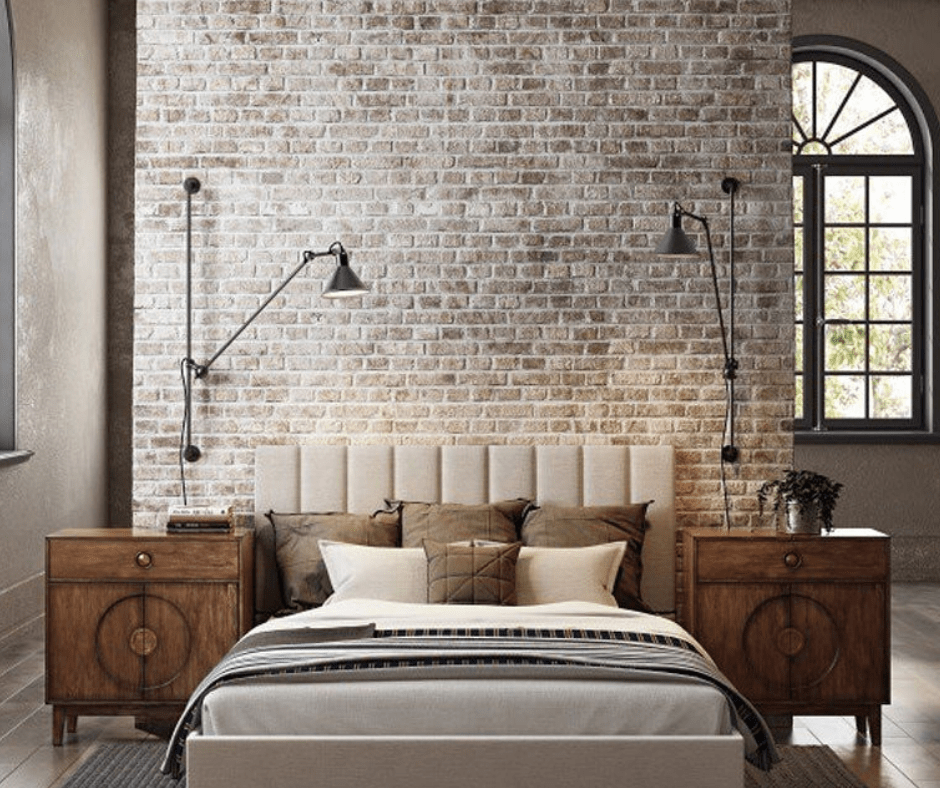 Bedroom decor-industrial