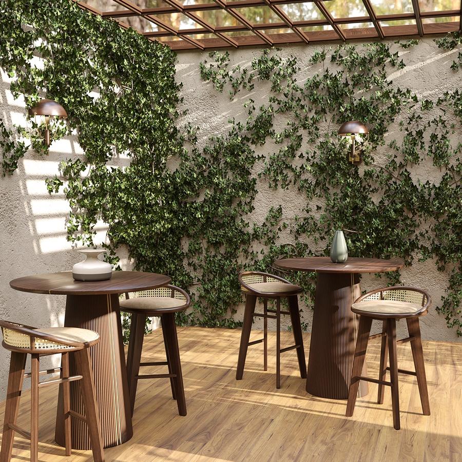 Brummel Bar Stool | Exterior Bar Decor
