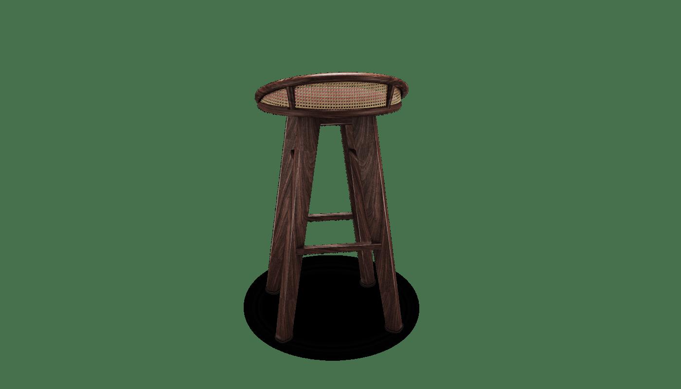 Brummell Bar Stool