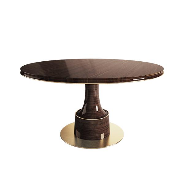 Buck Dining Table by Porus Studio