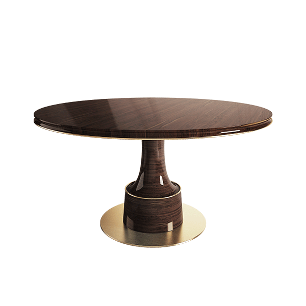 Buck Dining Table by Porus Studio