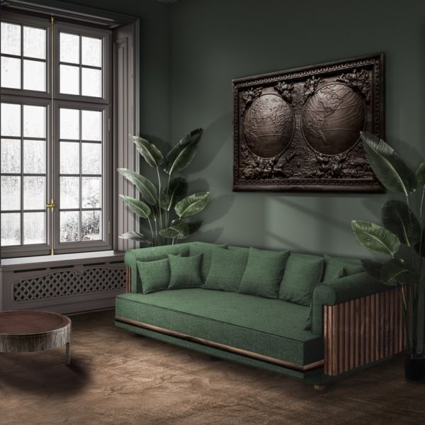 Conway Wooden Sofa