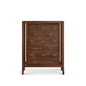 Caxton chest of drawers in noble wood