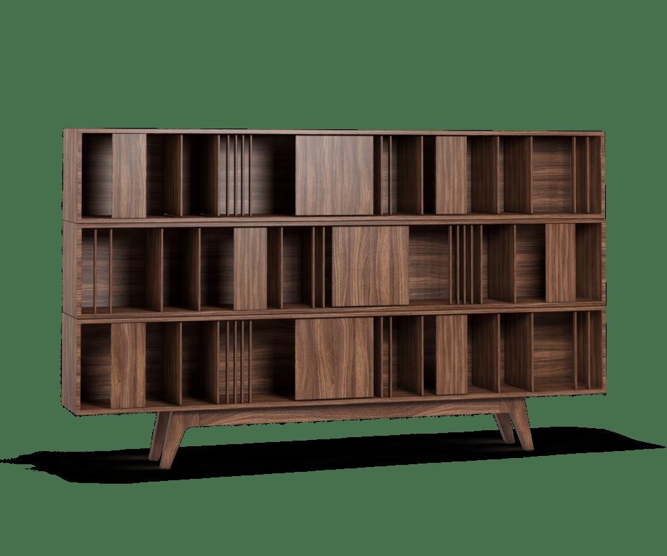 Classic Blue Color Woodworth bookcase 1