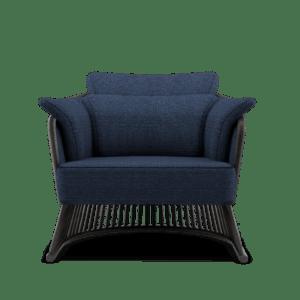 Classic Blue Pantone jonhson armchair