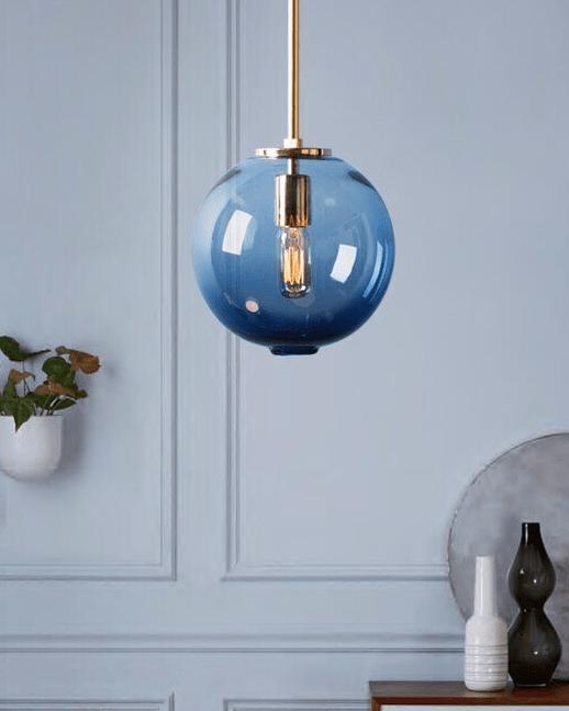 Classic Blue Pantone-light-globe-pendant