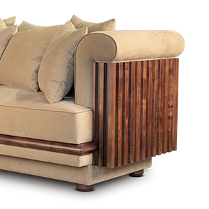Conway Sofa by Wood Tailors Club