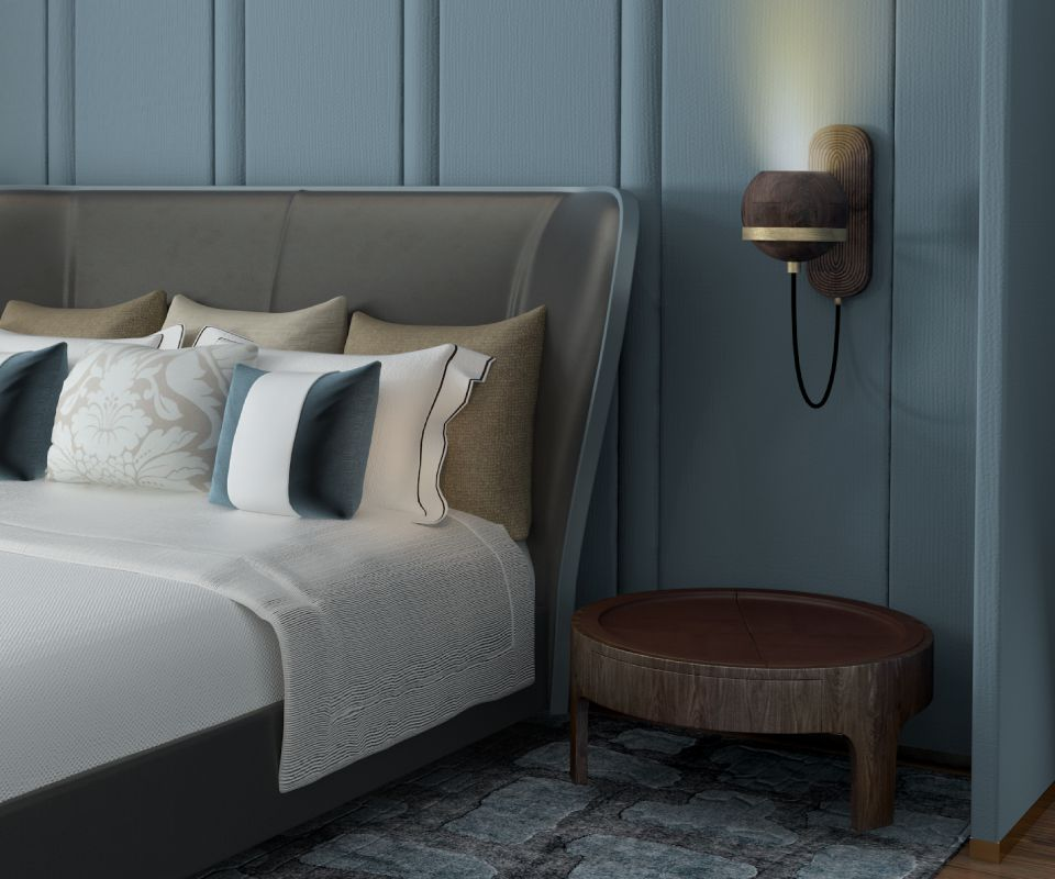 Fleming Wall Lamp Bedroom ambience