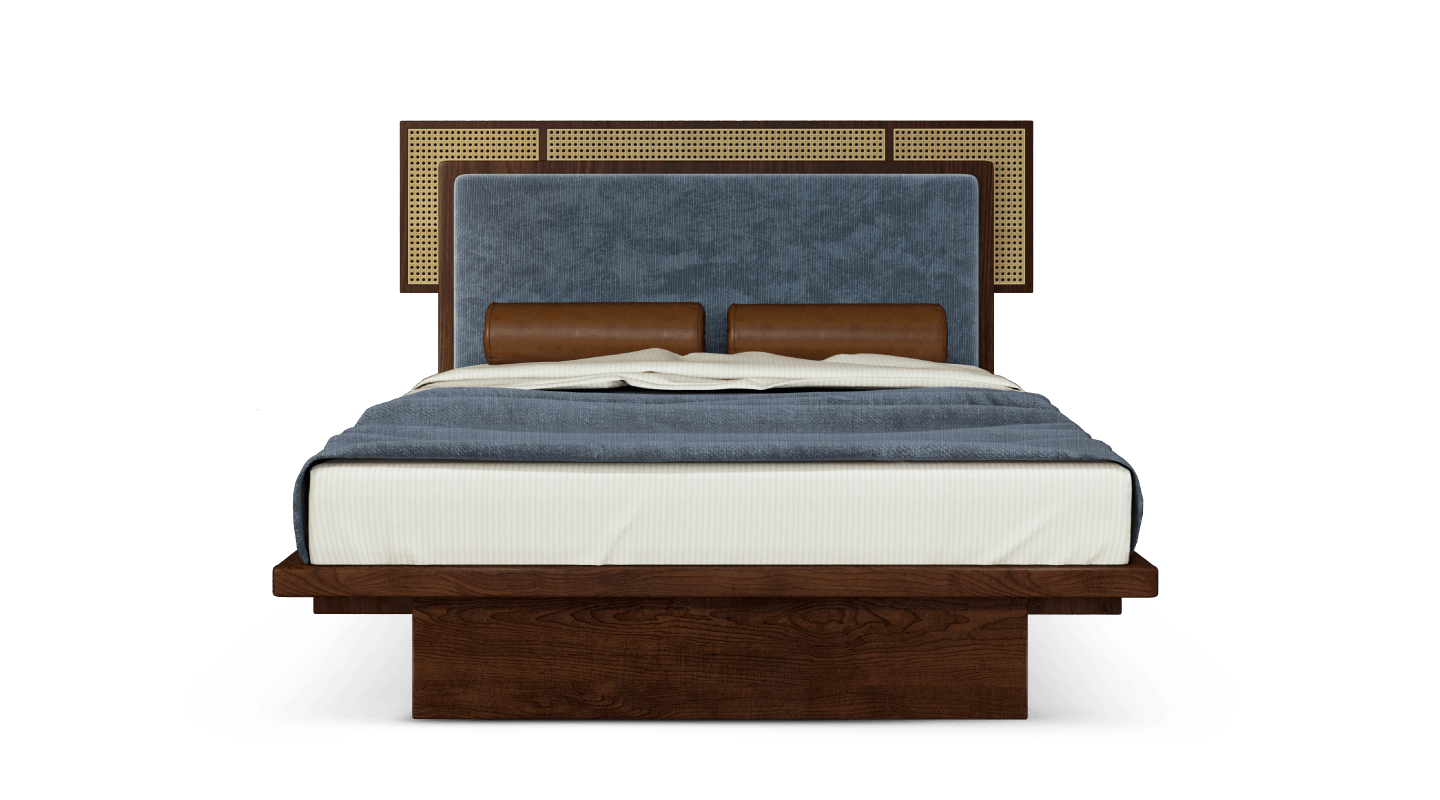 Forbes Rattan Bed