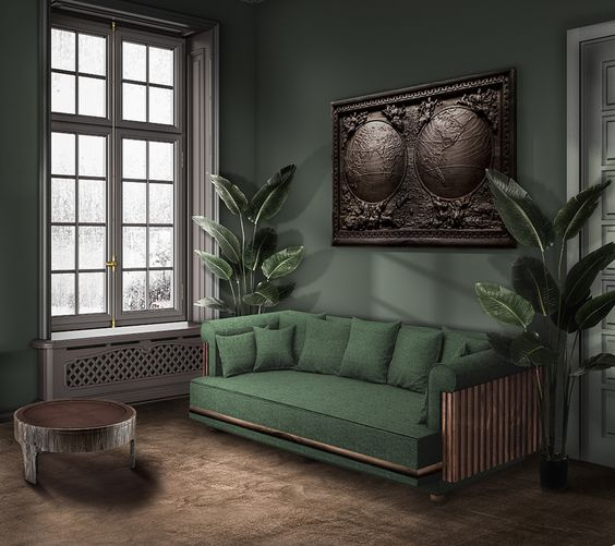 Forest Green-Trend-Decor-Sofa-Paint