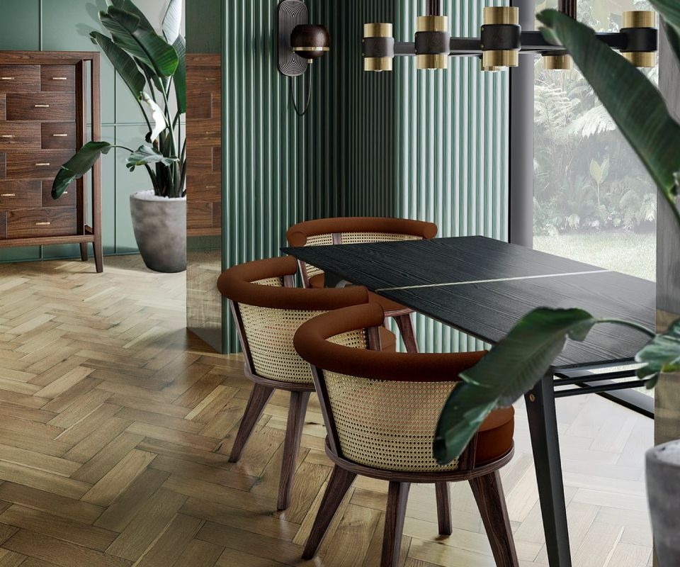 George Dining Chair Dining Rooom Ambience