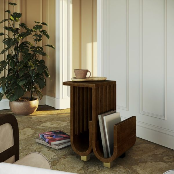 Goschen Wooden Side Table