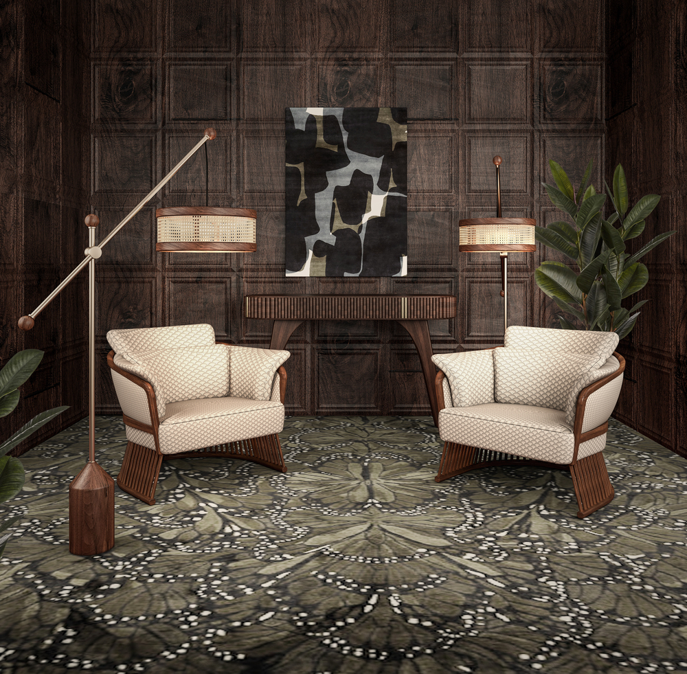 Hamilton Floor Lamp vs Johnson Armchair