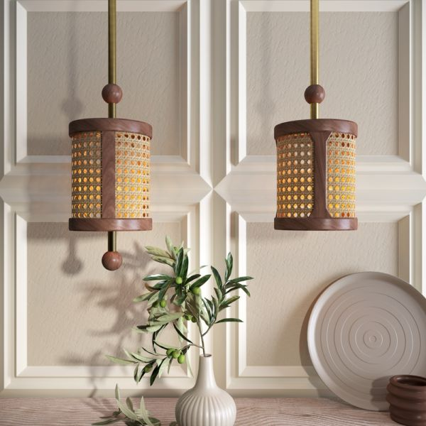 Hamilton Wooden Lamp