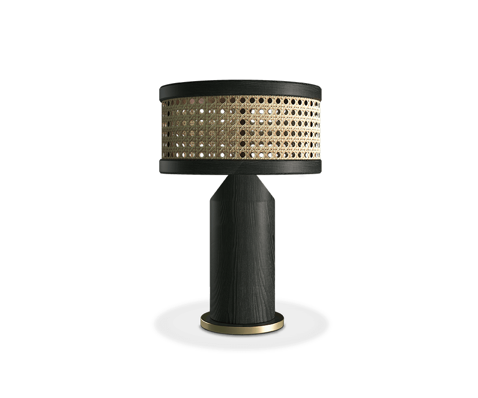 Hamilton Table Lamp made in AshWood
