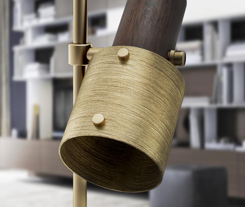 Herschel Wooden Table Lamp