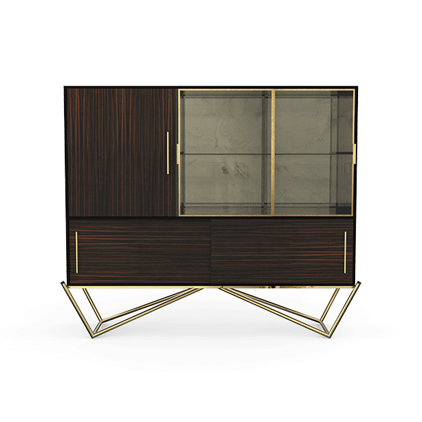 Hines Cabinet by Porus Studio