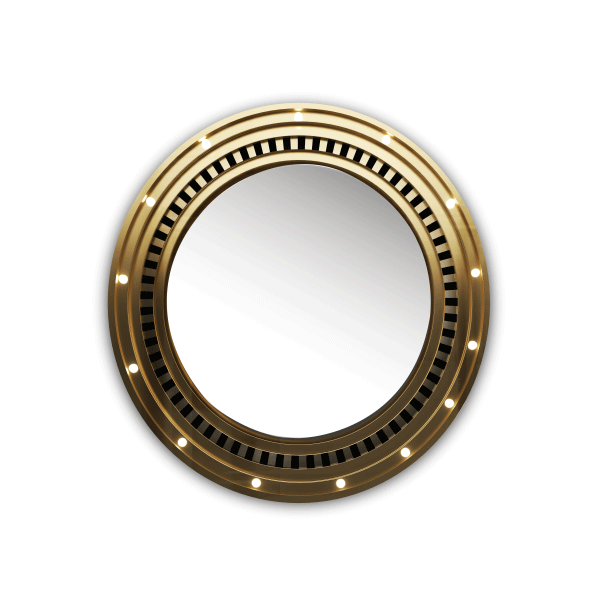 Hollywood Mirror by Porus Studio