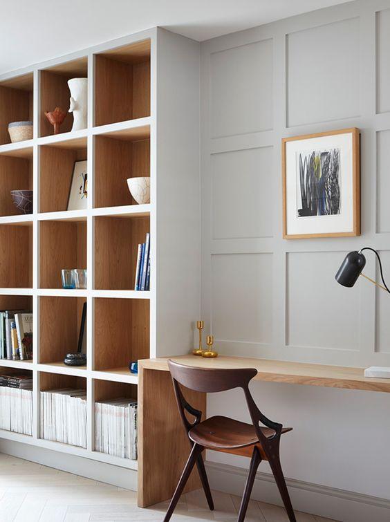 Home Office Ideas- Clean Modern