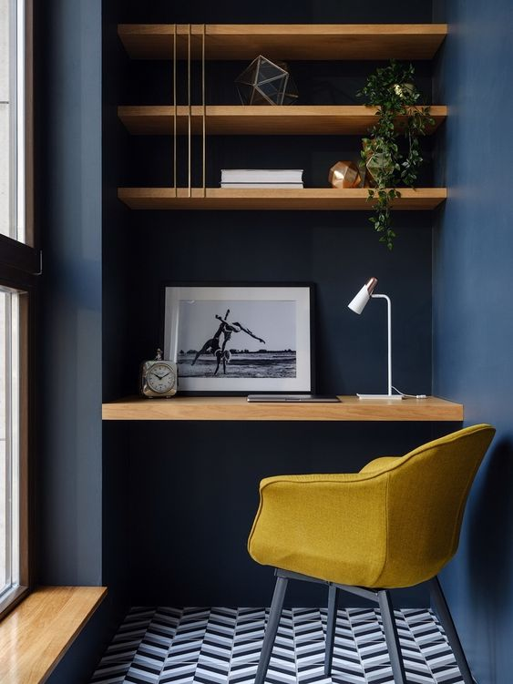 Home Office Ideas-Monochrome