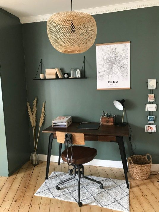 Home Office Ideas- Rustico