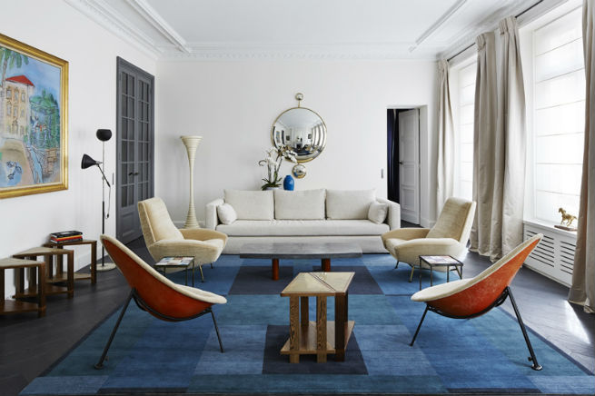 Interior Design Projects in Paris- by Sarah Lavoine