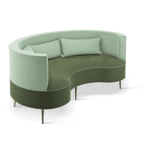 Interior Design Project Paris- Margret Twin-seat