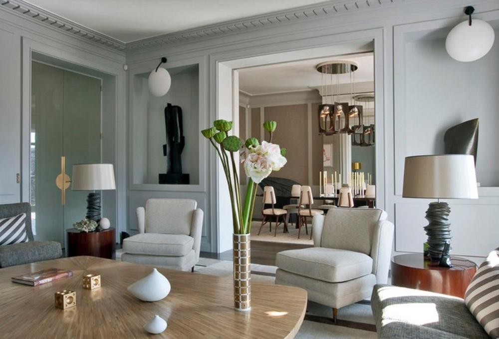 Jean-louis deniot- interior design -projecst