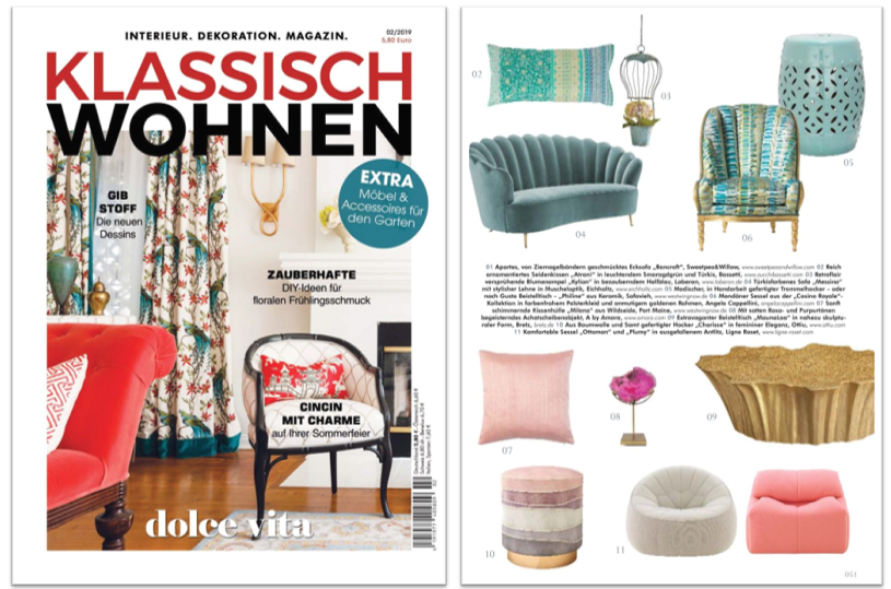 Klassich Wohnen-Top-Interior-Design-Magazines
