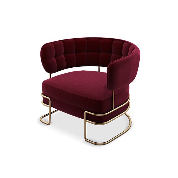 Madison Armchair by Porus Studio