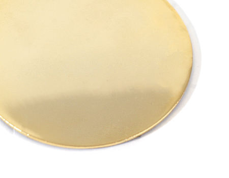 Tailoring Polished brass