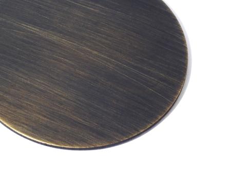 Tailoring antique brass