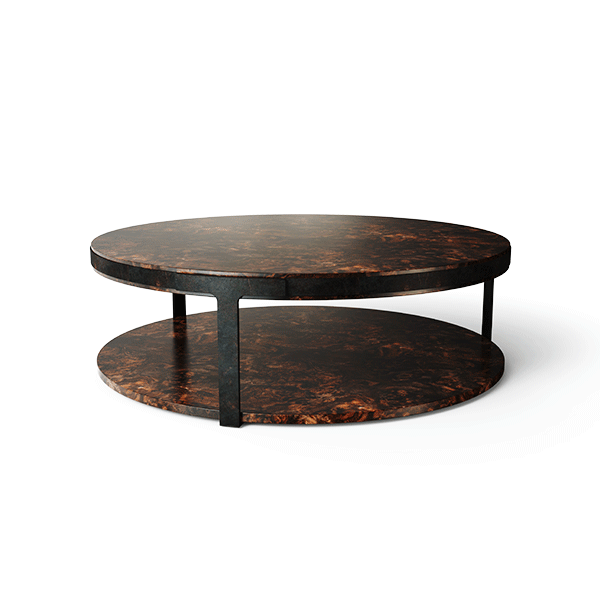 Monticello Center Table by Porus Studio