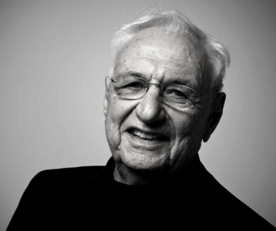 Most known architects- Frank Gehry