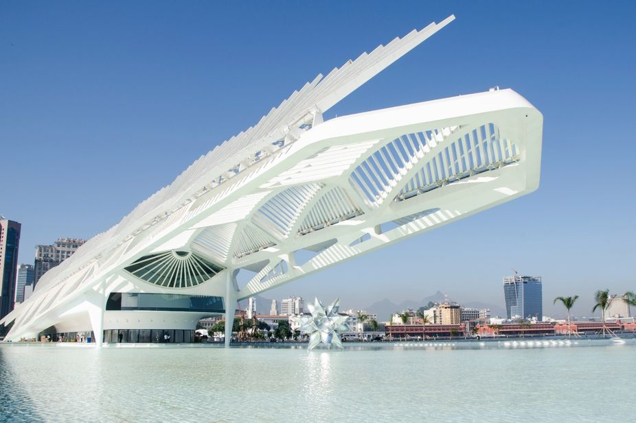 Most known architects- Museum of tomorrow- Santiago Calatrava