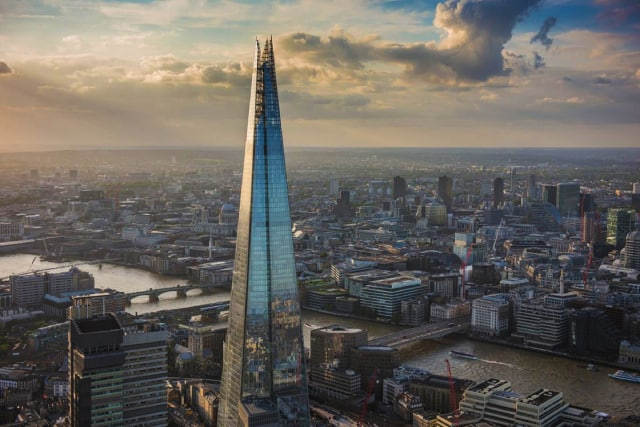 Most Known Architects-Shard London Brigde