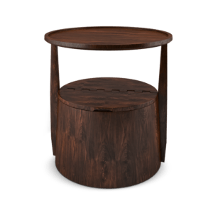 Paris Interior Decor- Burton Side table wine