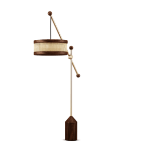 Paris Interior Decor- Hamilton Floor Lamp