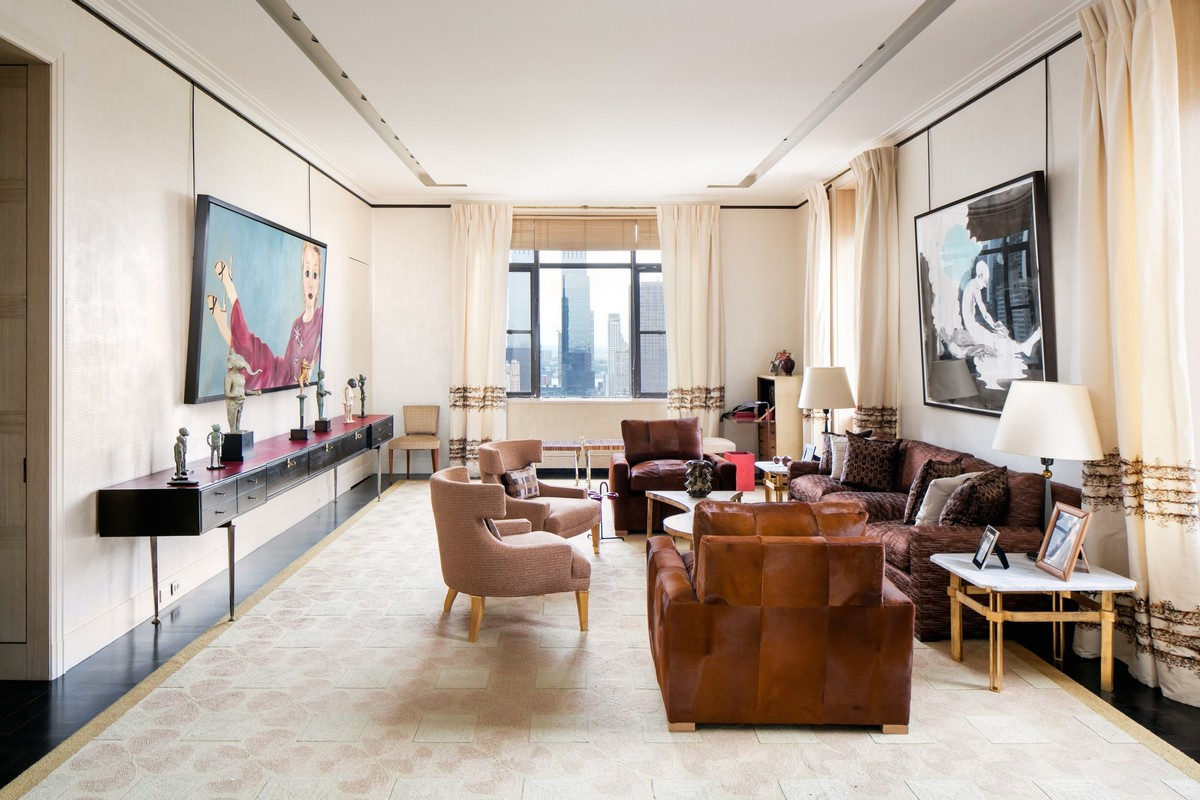 Peter Marino- Interior Design Living Room