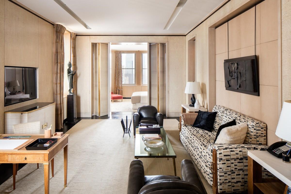Peter Marino- Interior Design- Living Room