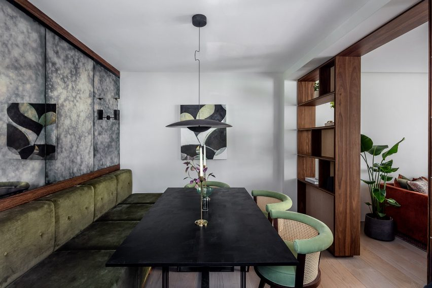 Residential - London House Project, UK - Echlin Williams - George dining chair