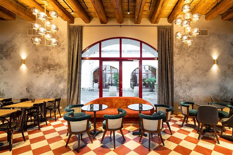 Gueterhof Restaurant - Zurich, Switzerland - George Dining Chair