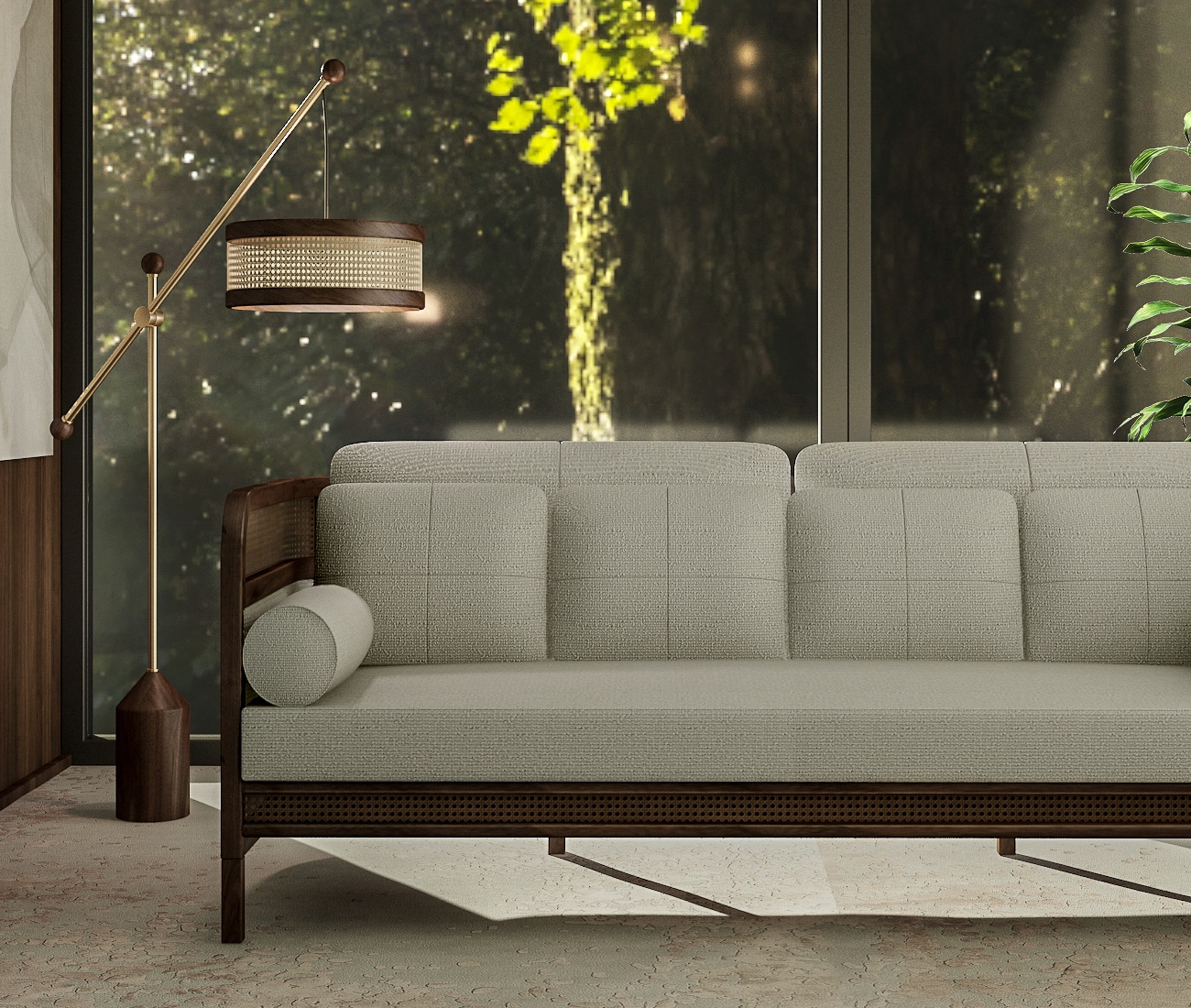 Spring decor trends-Crockford Sofa Ambient
