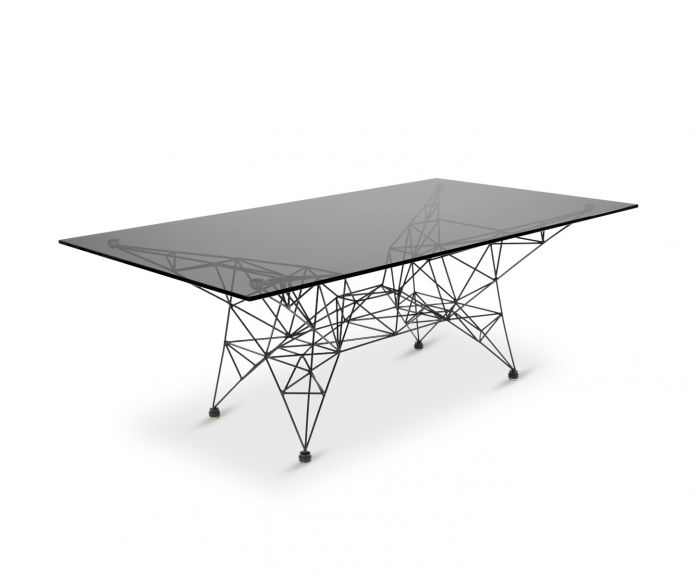 Tom Dixon- Pylon Coffee Table Black_angle